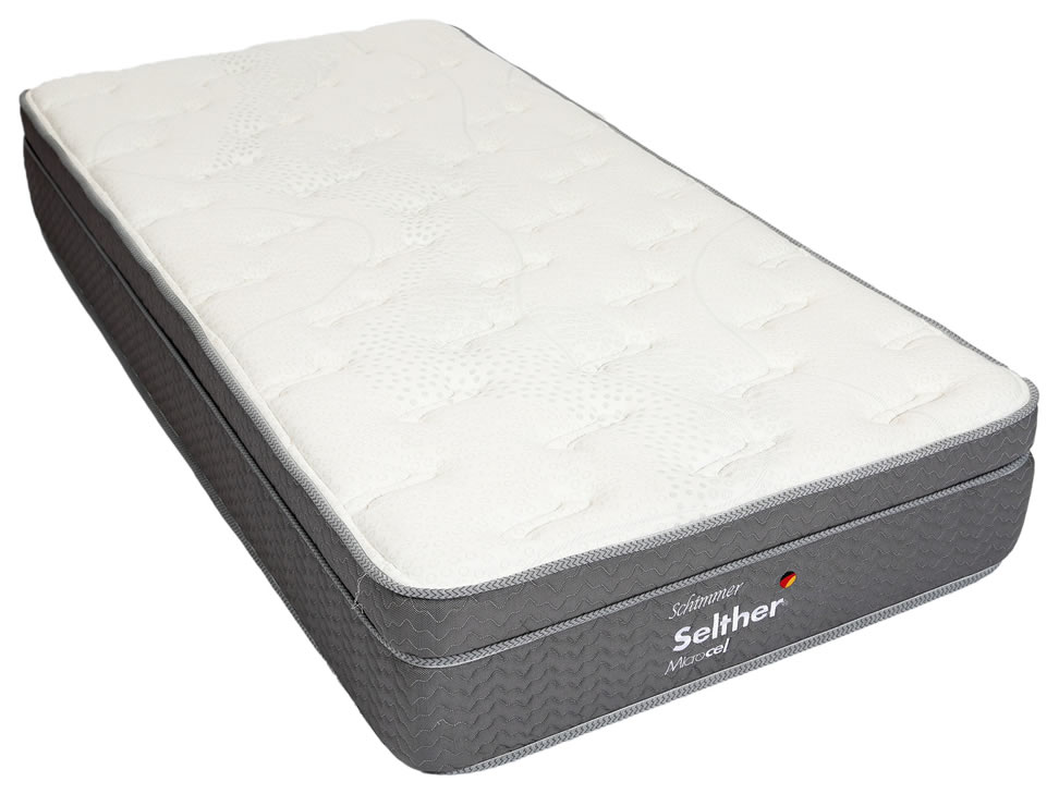 Colch n king size selther blanco schimmer liverpool es for Colchones king size baratos