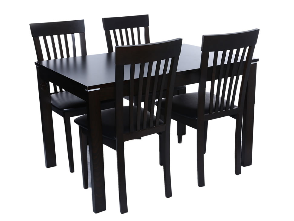Mesa comedor con 4 sillas c rdoba liverpool es parte de mi for Sillas de madera para comedor economicas