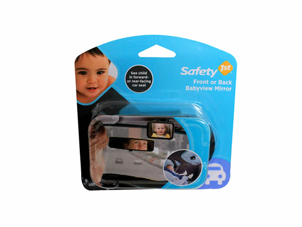 Safety first espejo retrovisor para beb for Espejo retrovisor bebe