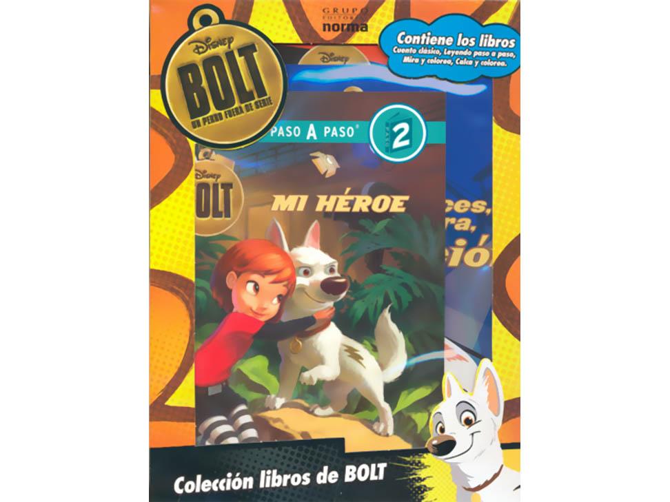 Bolt un perro fuera de serie kit c 4 libros liverpool es for Fuera de serie libro